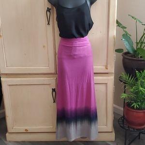 Magenta to Grey Skirt / Dress